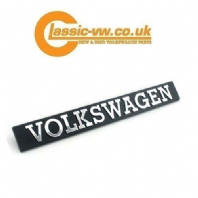 "Mk1 Golf ""VOLKSWAGEN"" Rear Badge, 171853685A Genuine  Scirocco, Jetta"